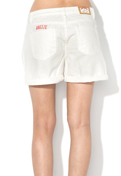 Funky Buddha Pantaloni scurti texturati Modern Mariner Femei