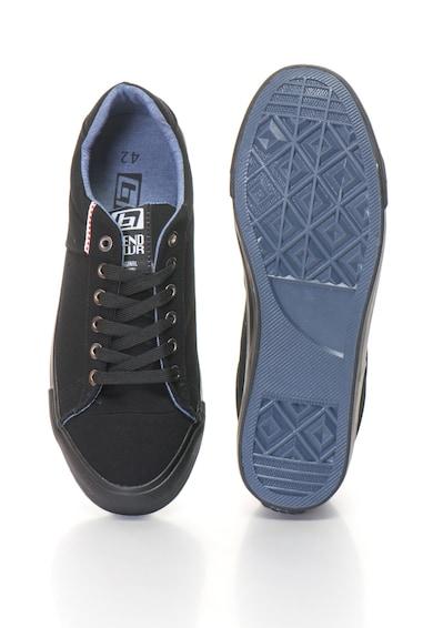 BLEND Cipő logórátéttel férfi