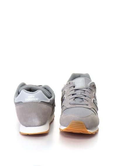 New Balance Pantofi sport de piele intoarsa cu insertie de plasa 373 Barbati