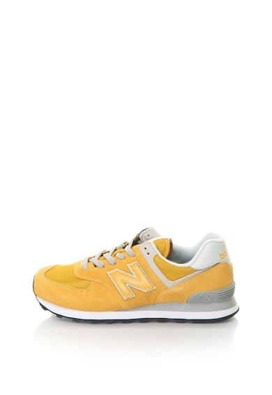 New Balance Pantofi sport de piele intoarsa 574 Classic Barbati