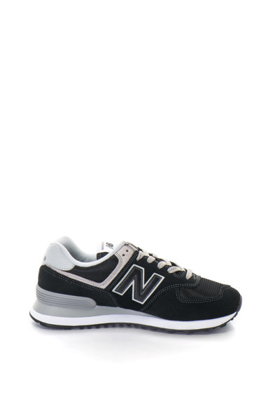 New Balance 574 Classic cipő nyersbőr betétekkel női