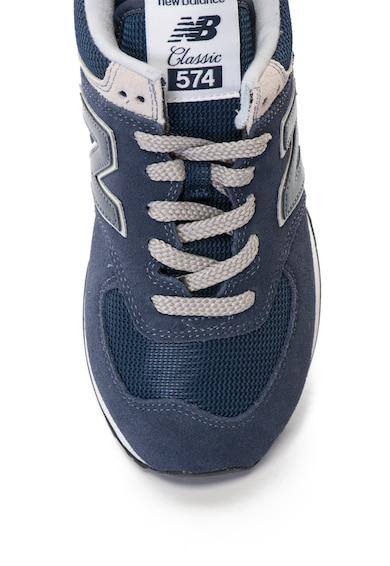 New Balance 574 nyersbőr cipő hálós betéttel női