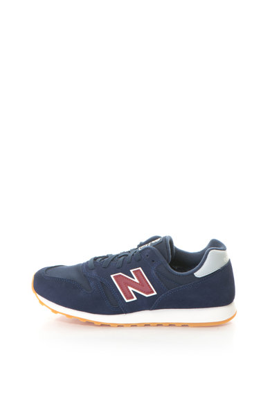 New Balance Pantofi sport cu garnituri de piele intoarsa si plasa 373 Barbati