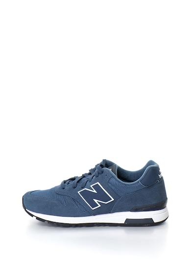 New Balance Pantofi sport cu insertii de piele intoarsa 565 Barbati