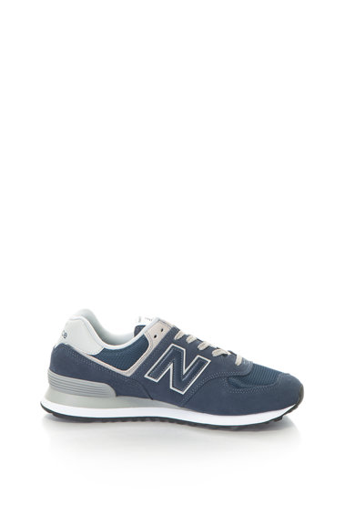 New Balance Pantofi sport de piele intoarsa cu insertie de plasa 574 Barbati