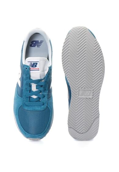 New Balance Pantofi sport unisex din piele intoarsa si material textil, pentru alergare, 220 Femei