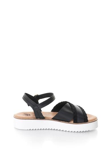 MTNG Sandale flatform de piele cu detaliu cu aspect impletit Femei