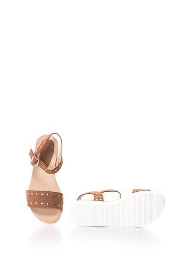 MTNG Sandale de piele intoarsa sintetica prevazute cu tinte Femei