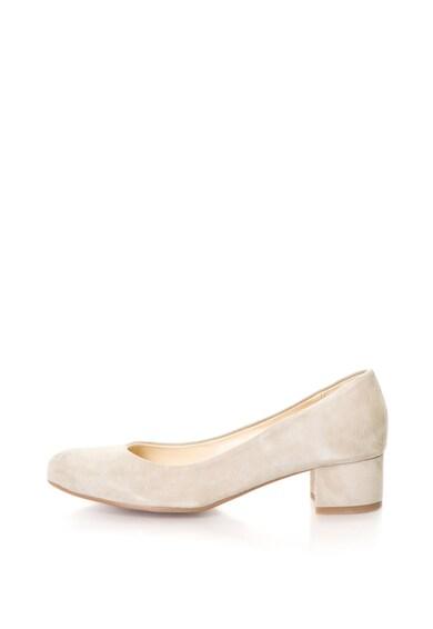 Zee Lane Pantofi de piele intoarsa cu toc masiv Mia Femei