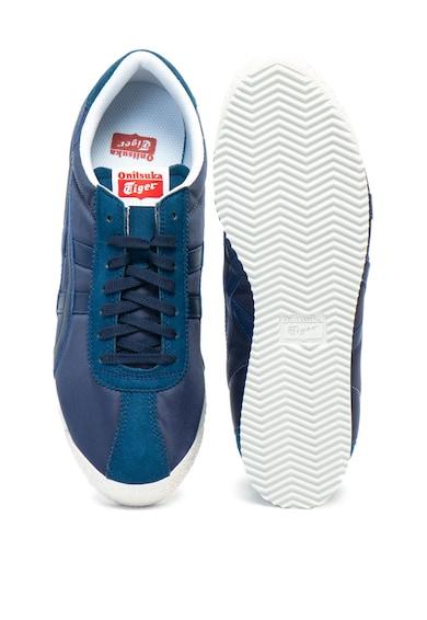 ASICS Tiger Pantofi sport din piele sintetica si material textil Barbati