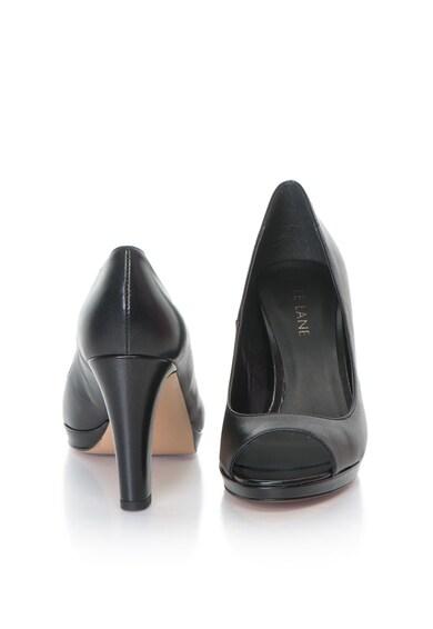 Zee Lane Pantofi de piele cu varf decupat ALASKA Femei