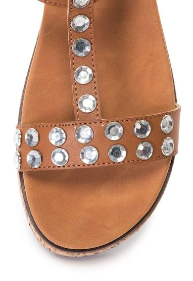 Oakoui Sandale cu bareta in forma de T, platforma si decoratiuni Gianna Femei
