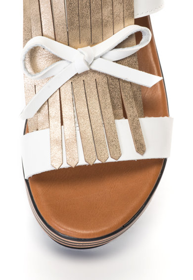 Oakoui Sandale cu talpa wedge GINEVRA Femei