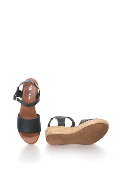 Zee Lane Кожени сандали Alice със скосена платформа Жени