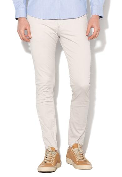 Zee Lane Denim Pantaloni casual cu gaici pentru curea Barbati