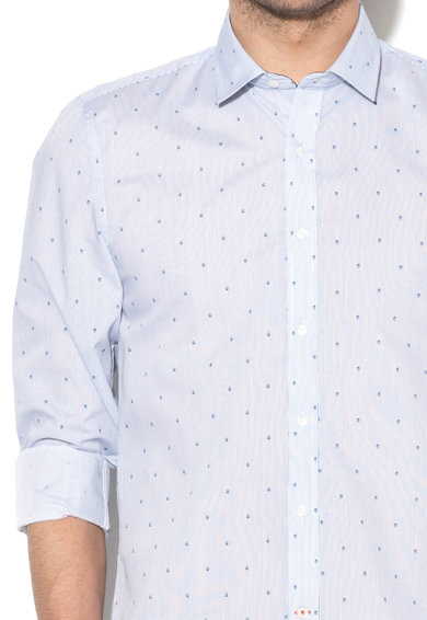 Zee Lane Collection Camasa slim fit cu dungi discrete Barbati