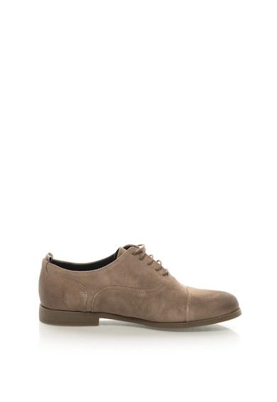 Guess Обувки Oxford от велур Мъже