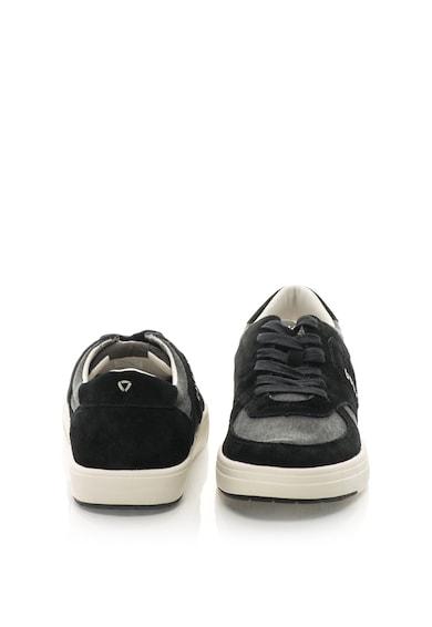 Guess Sneakers cipő nyersbőr anyagbetétekkel férfi