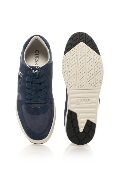 Guess Спортно-елегантни обувки с велур Мъже