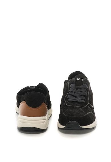 Guess Nubuk bőr sneakers cipő férfi