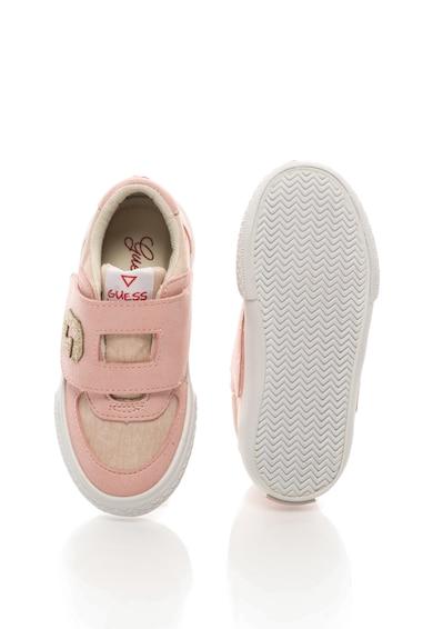 Guess Спортни обувки с еко велур и велкро Момичета