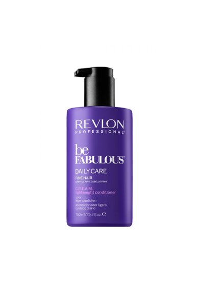 Revlon Professional Balsam  Be Fabulous Daily Care Fine Hair Cream, 750 ml Femei