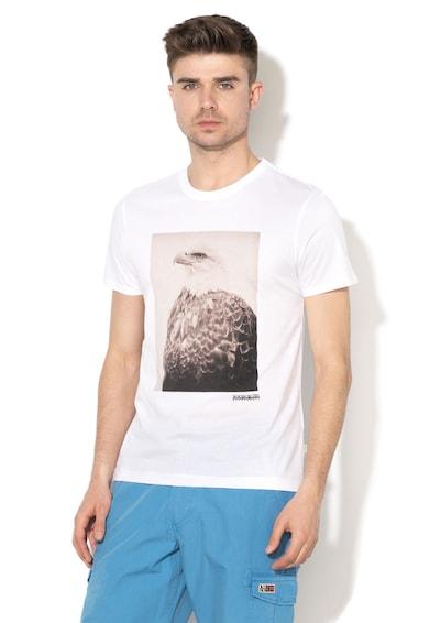 Napapijri SANYON grafikai mintás póló férfi