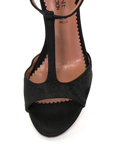 Zee Lane Collection Sandale cu bareta in T si aspect de satin Femei
