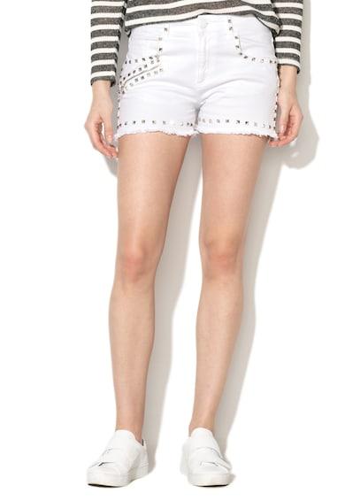 Versace Jeans Rövid farmernadrág szegecses rátétekkel női