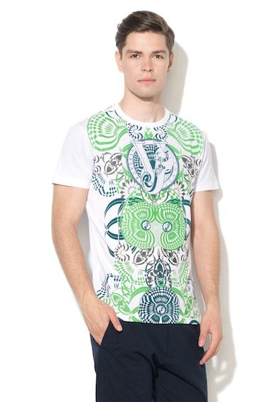 Versace Jeans Slim Fit mintás póló férfi