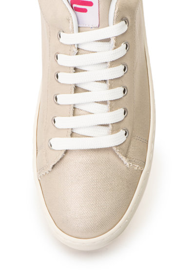 Fornarina Спортни обувки с равна платформа и лъскави детайли Жени