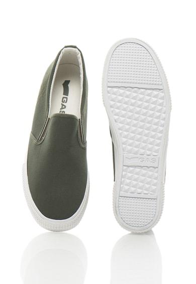 GAS Pantofi slip-on cu talpa texturata EXPRES ON Barbati
