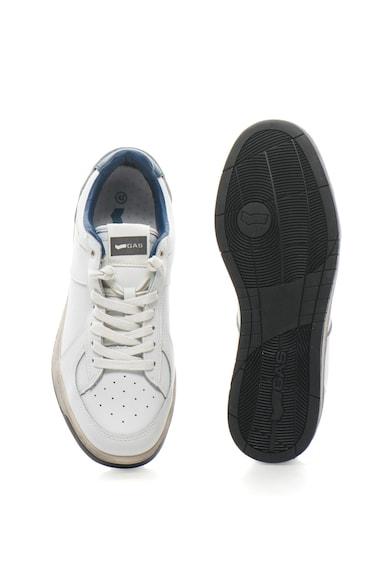 GAS Pantofi sport de piele cu detalii perforate Team LTH Barbati