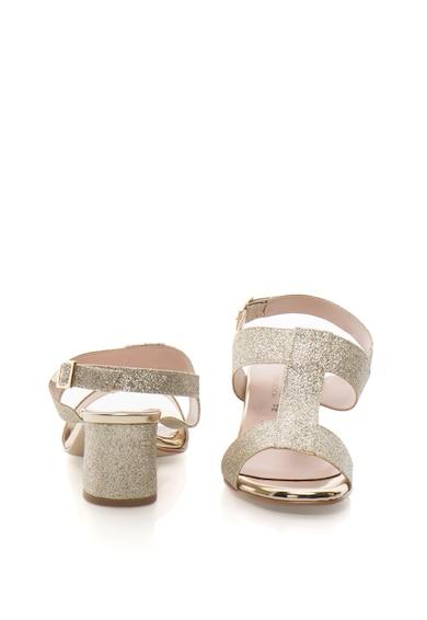 Zee Lane Collection Sandale slingback cu aspect stralucitor Femei