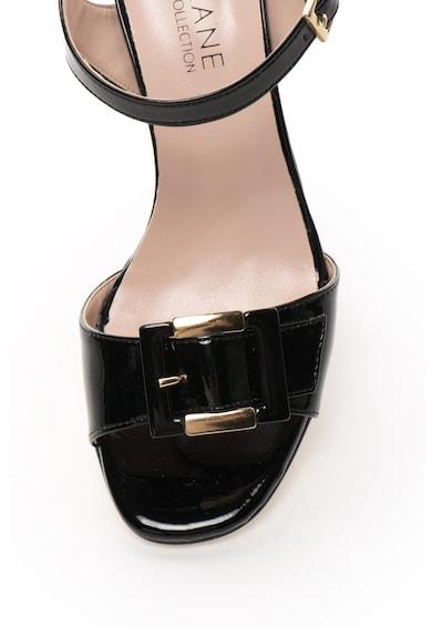 Zee Lane Collection Sandale lacuite cu bareta pe glezna si detaliu cu catarama Femei