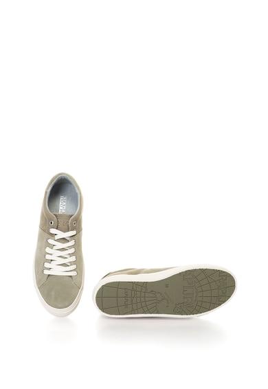 Napapijri Naomi nyersbőr és textil sneakers cipő női