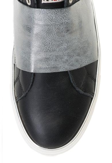 Napapijri Pantofi slip-on de piele Alicia Femei