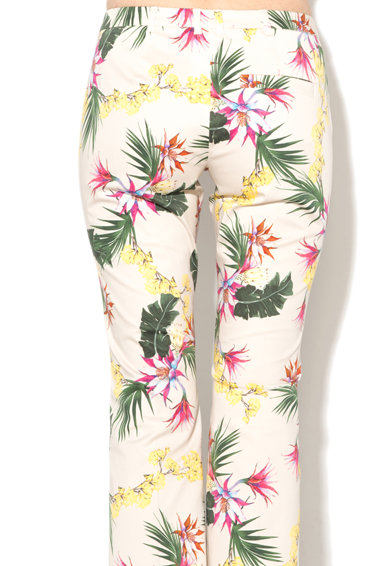 Marella Pantaloni kick flare cu model floral Incerto Femei