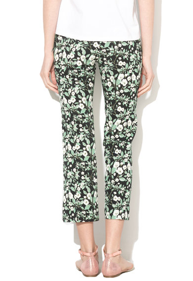 Marella Pantaloni eleganti cu model floral Femei