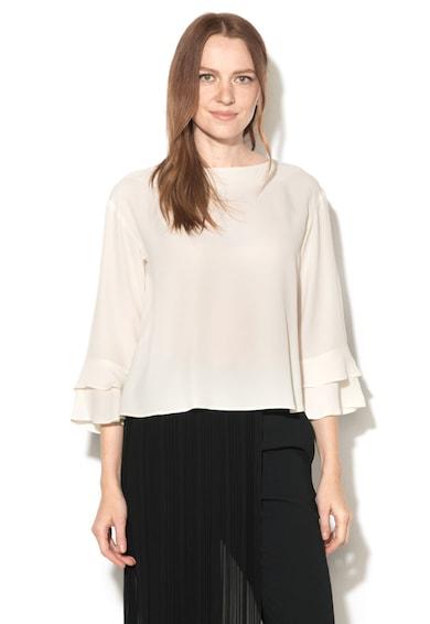 Marella Bluza din amestec de matase, cu mansete cu volane LAGO Femei