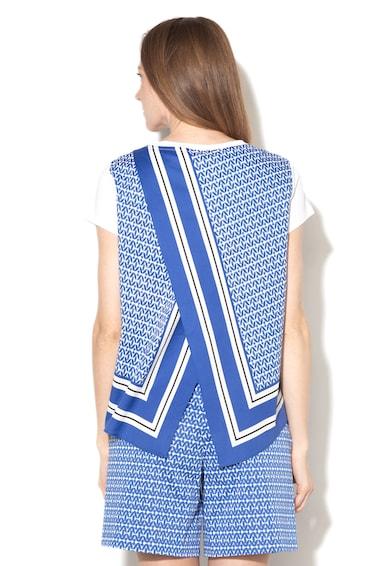 Marella Tricou cu design petrecut pe partea din spate Gronda Femei