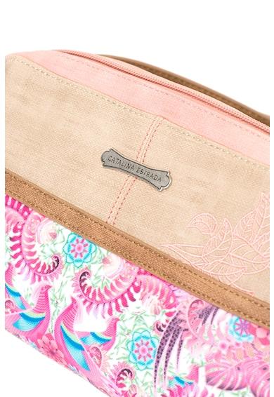 Catalina Estrada Keresztpántos táska hímzett részlettel női