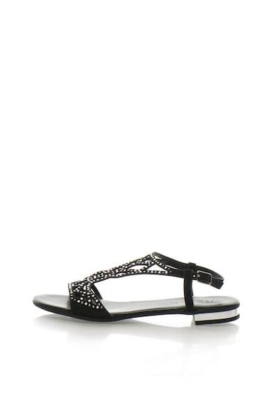 Zee Lane Collection Sandale slingback de piele intoarsa cu decoratiuni Femei
