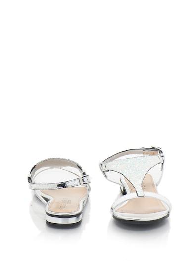 Zee Lane Collection Sandale cu bareta in forma de T si insertii stralucitoare Femei