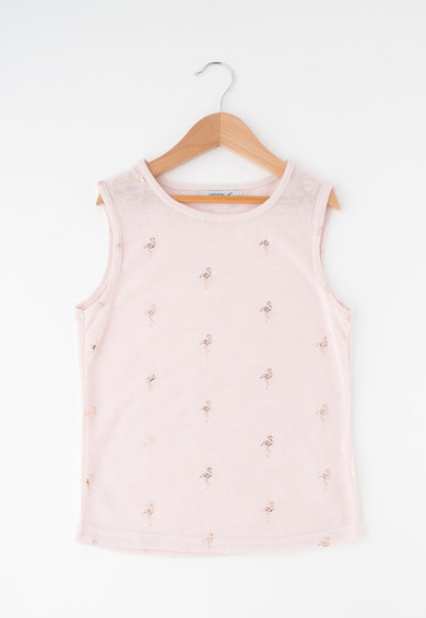 Haily's Haily's, Top din tricot fin cu imprimeu stralucitor Adriana Fete
