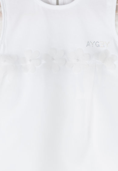 Aygey Bluza lunga cu strat exterior transparent Jigen Fete