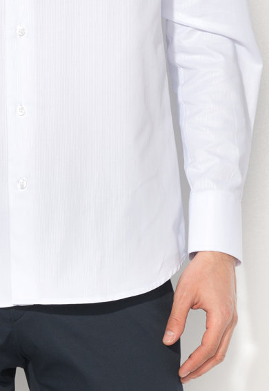Zee Lane Collection Camasa cu aspect texturat Barbati