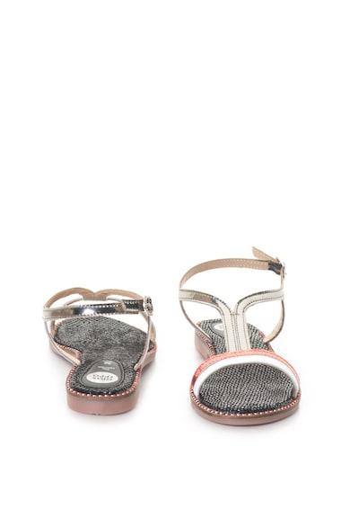 Gioseppo Sandale cu bareta in T si garnituri de piele Femei