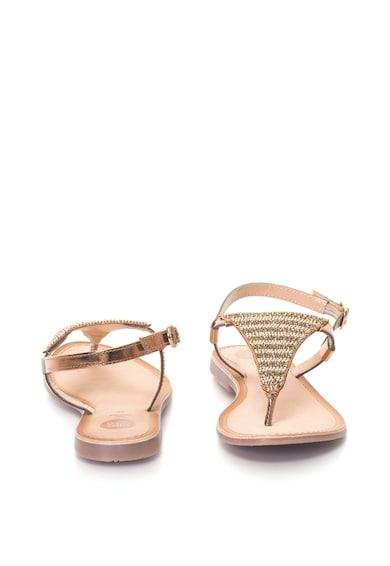 Gioseppo Sandale de piele cu bareta separatoare si aplicatii din strasuri Femei