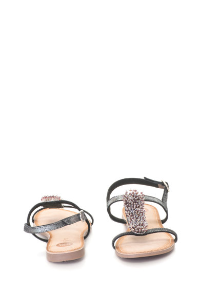Gioseppo Sandale slingback decorate cu strasuri si margele Femei